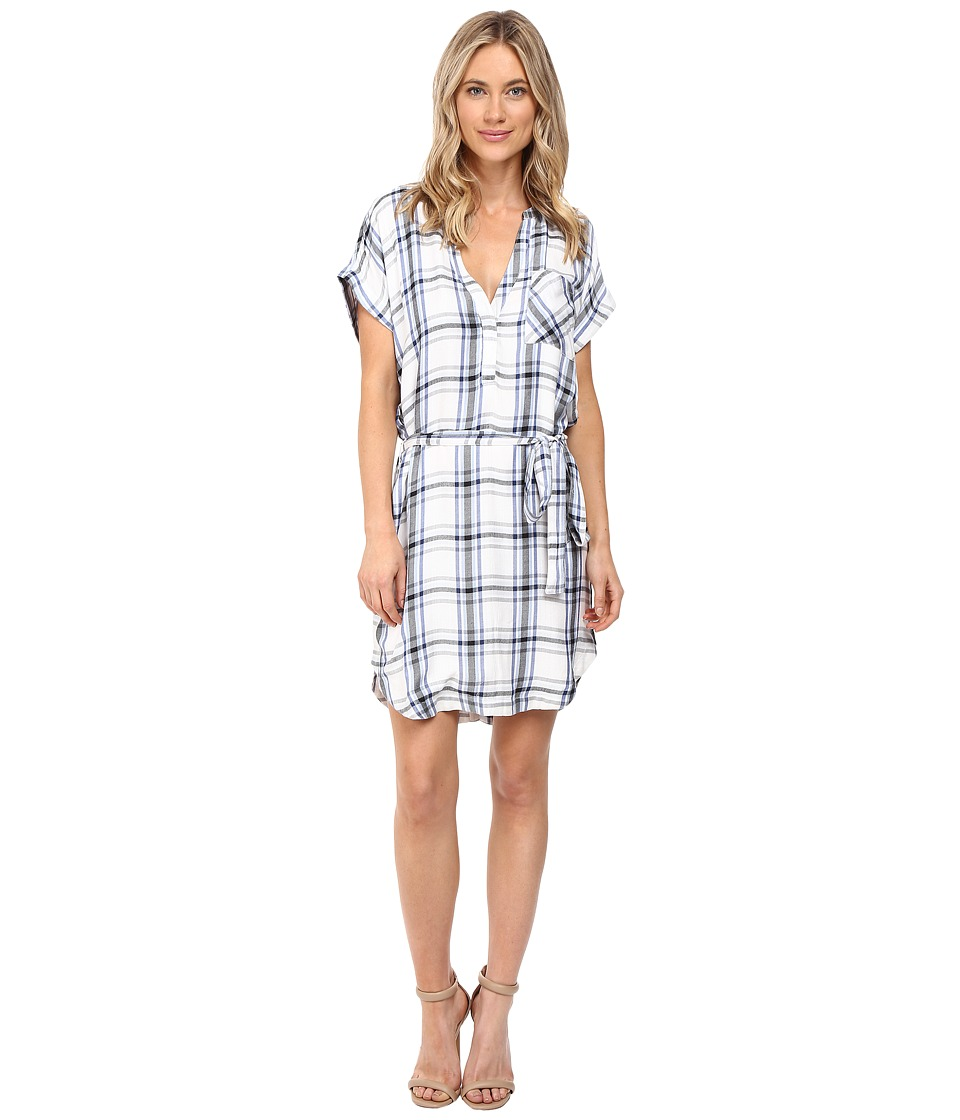 Lovers + Friends - Bryce Shirtdress (Ivory Grey) Women's Dress