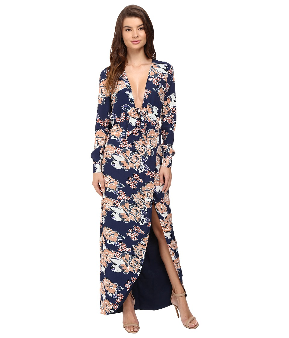 Lovers + Friends - My Love Maxi Dress (Carmel Floral) Women's Dress