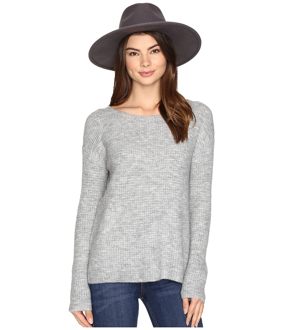 BB Dakota - Vale Pullover Sweater (Heather Grey) Women's Sweater