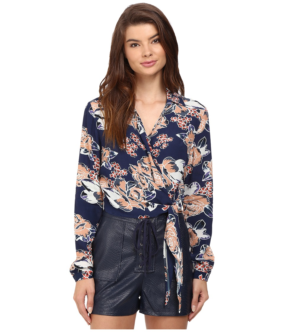 Lovers + Friends - Valley Top (Carmel Floral) Women's Clothing