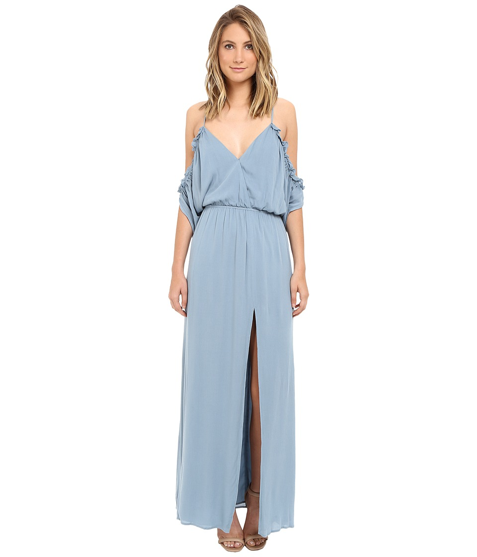 Lovers + Friends - Effortless Maxi (Dusty Blue) Women's Dress