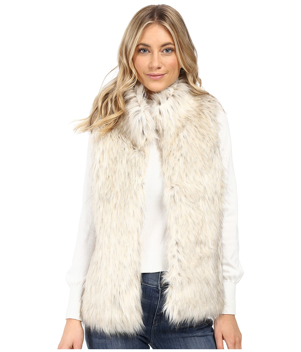 BB Dakota - Brewer Faux Fur Vest (Dirty White) Women's Vest
