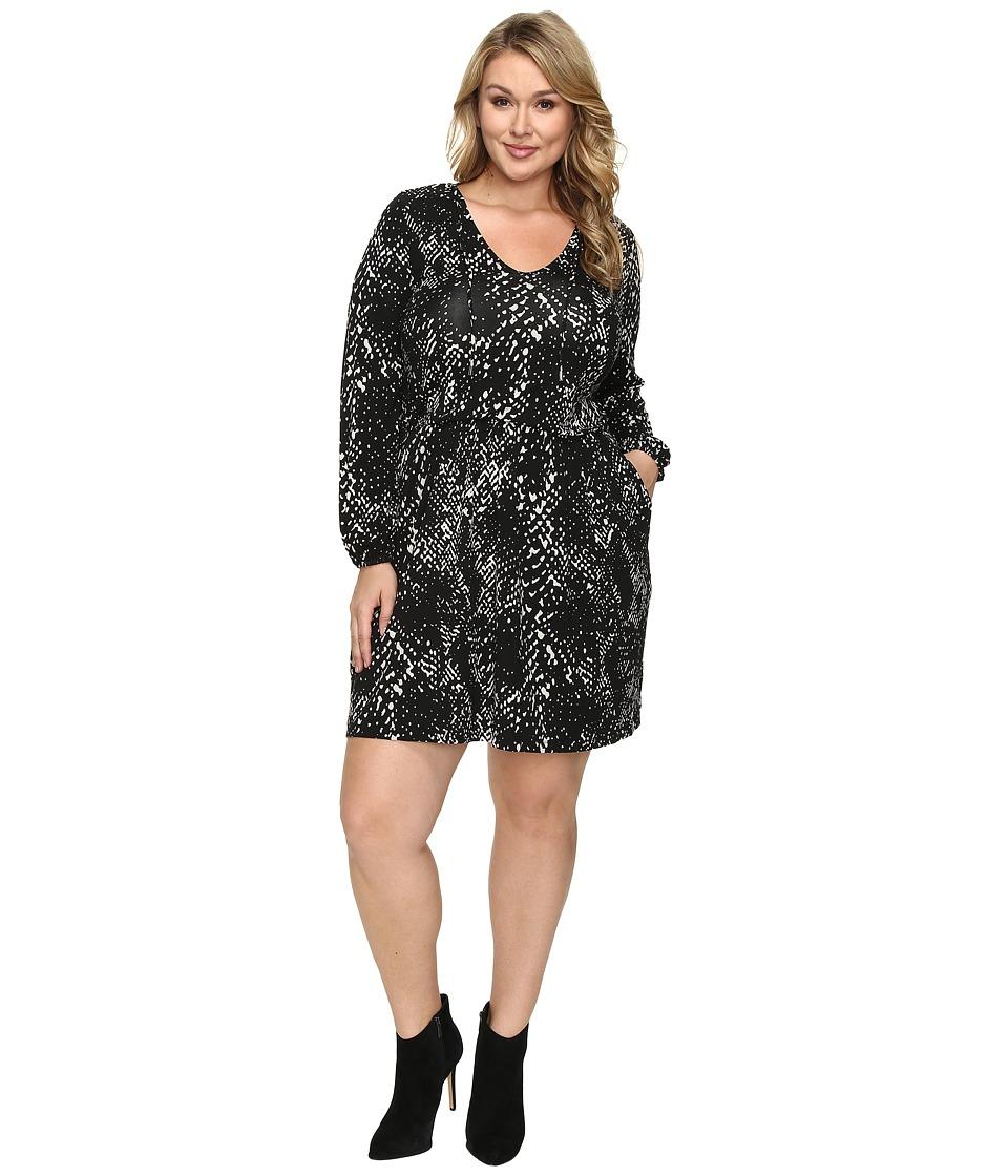 Tart Plus Size Robby Dress (Abstract Python) Women