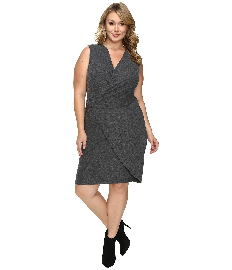 Tart - Plus Size Analyse Dress (Charcoal) Women's Dress