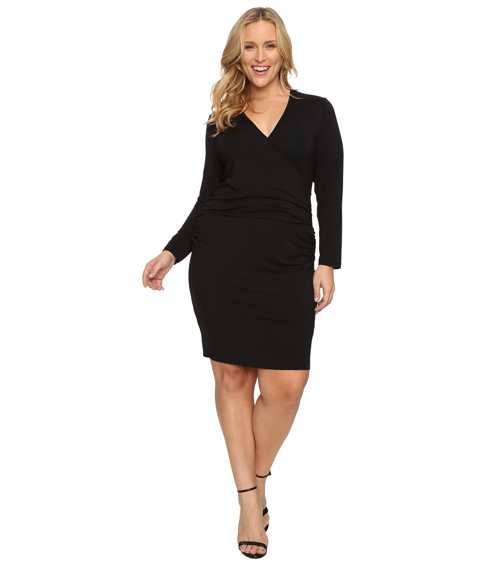 Tart Plus Size Peaches Dress (Black) Women