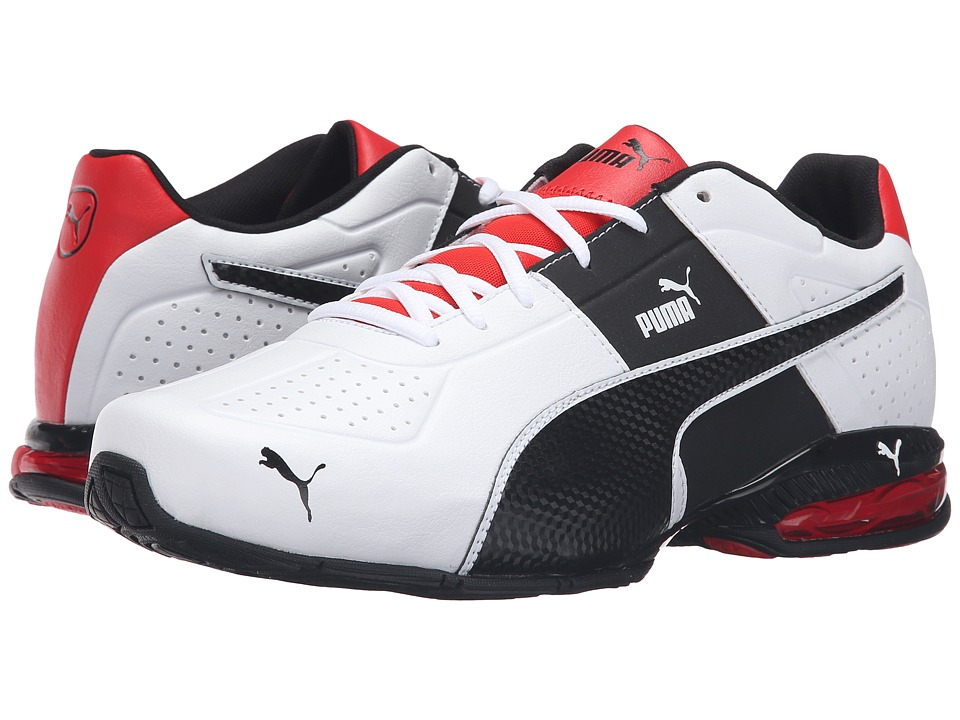PUMA Cell Surin 2 FM Puma White-Puma Black Mens Lace up casual Shoes