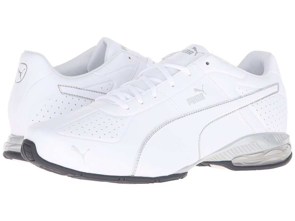 PUMA - Cell Surin 2 FM (Puma White/Puma Silver) Men's Lace up casual Shoes
