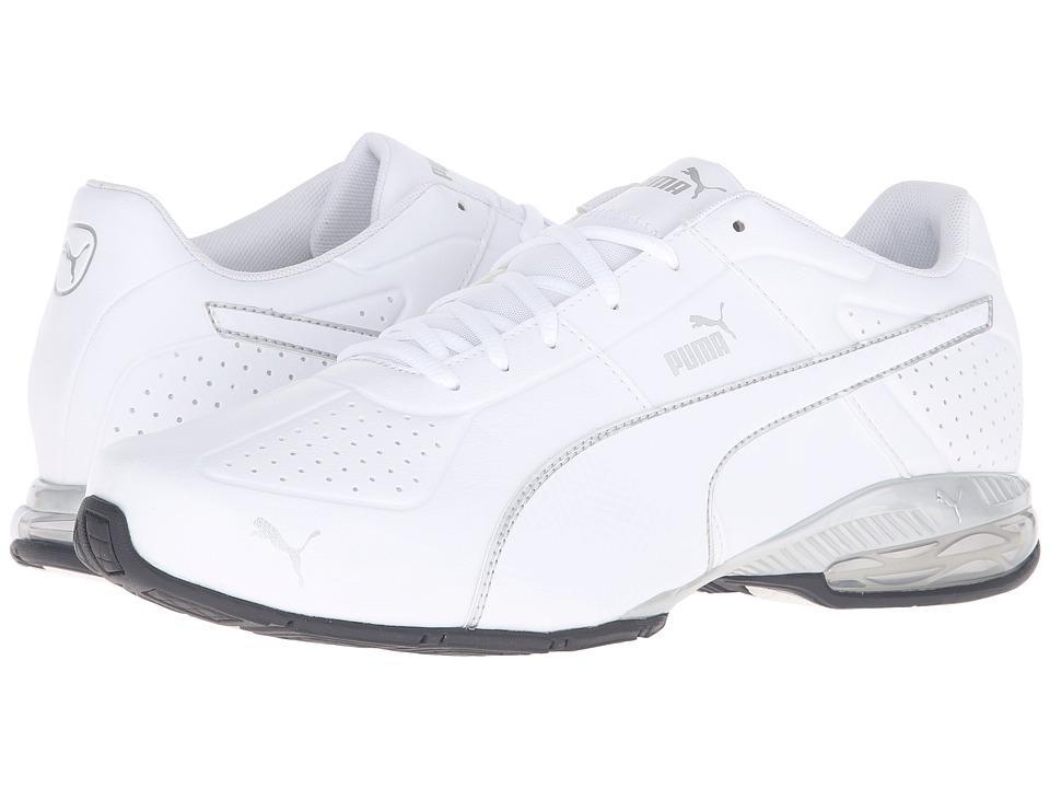 PUMA - Cell Surin 2 FM (Puma White/Puma Silver) Men's Lace up casual Shoes