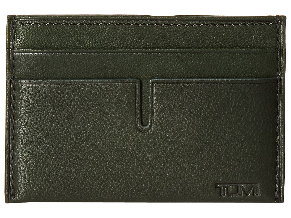Tumi - Chambers Slim Card Case (Hunter) Credit card Wallet