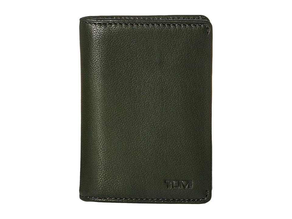 Tumi - Chambers Gusseted Card Case (Hunter) Credit card Wallet