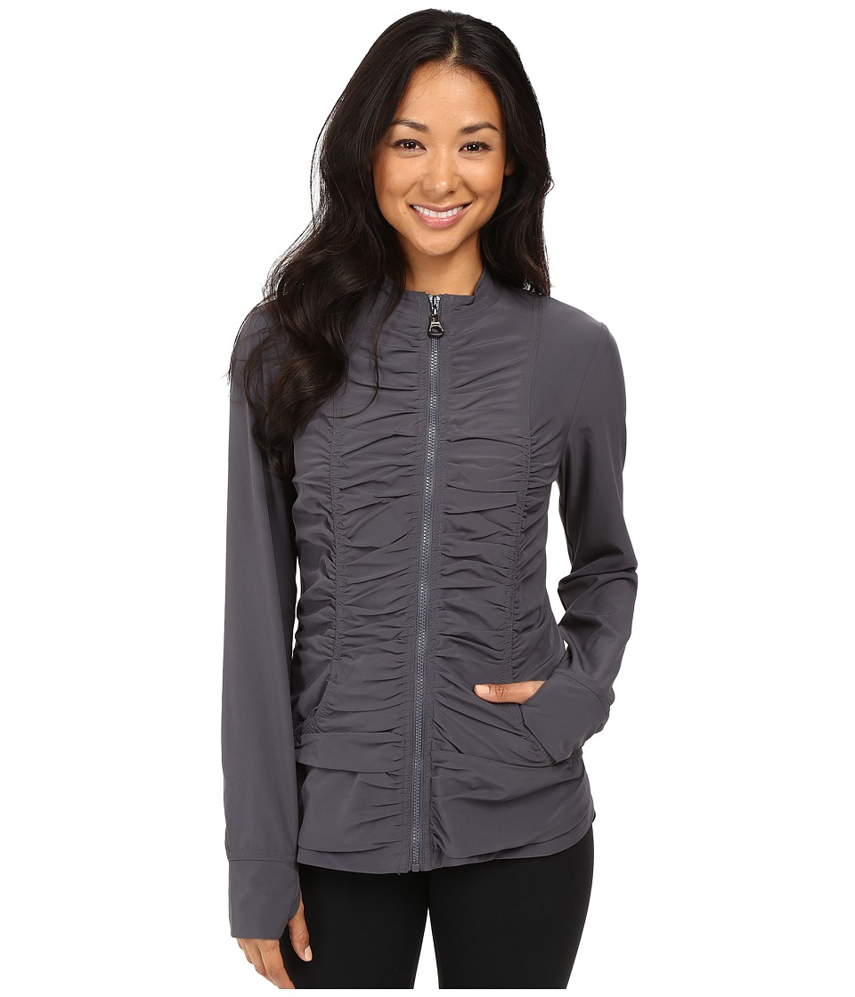 XCVI - Movement by XCVI Hideaway Jacket (Charcoal) Women's Jacket