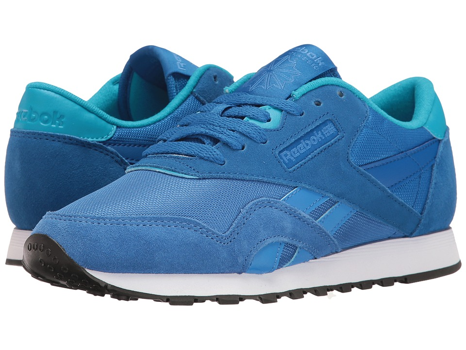Reebok Lifestyle - Classic Nylon MH (Echo Blue/Awesome Blue/Teal/Indigo/White/Black) Women's Shoes