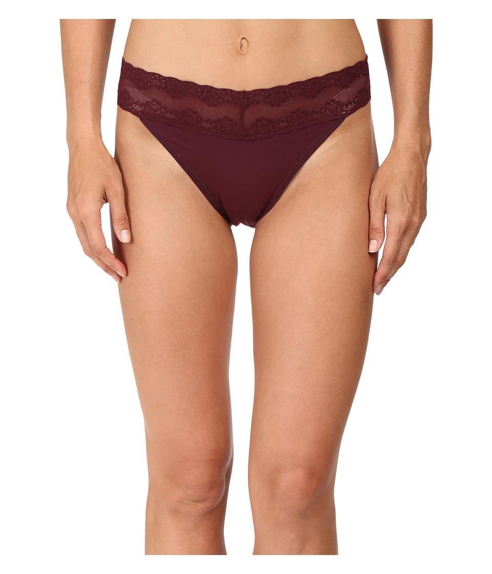 Natori - Bliss Perfection Plus Vikini (Merlot) Women's Underwear