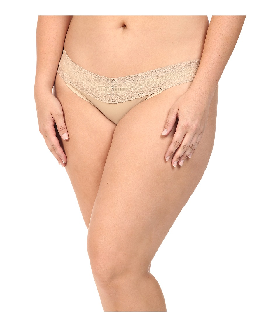 Natori - Bliss Perfection Plus Thong (Caf ) Women's Underwear