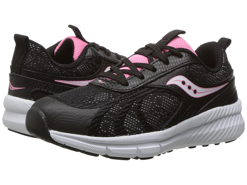 Saucony Kids - Velocity (Little Kid) (Black) Girls Shoes