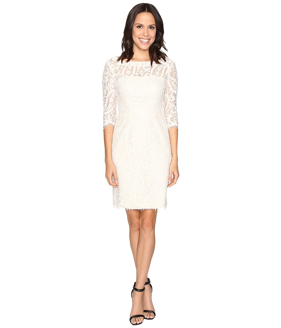 rsvp - Middleton Lace Dress (Ivory) Women's Dress