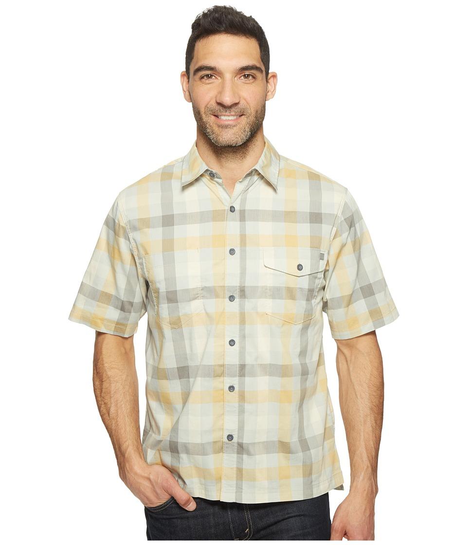 Woolrich - Performance Shirt (Amber Gold) Men's Short Sleeve Button Up