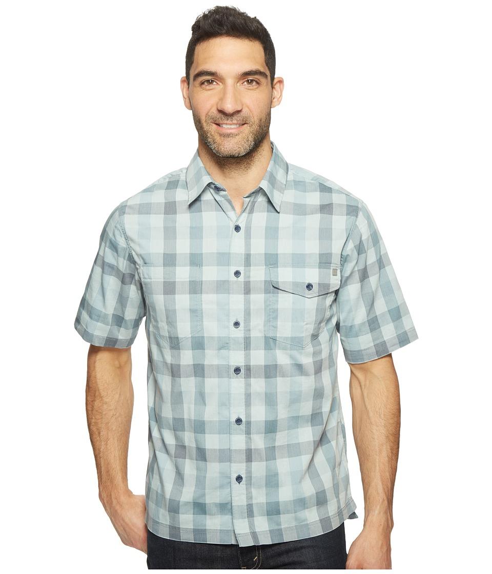 Woolrich - Performance Shirt (Dusk) Men's Short Sleeve Button Up