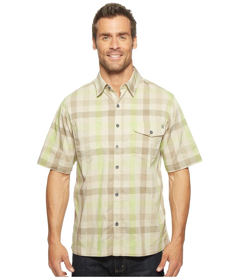 Woolrich - Performance Shirt (Peat) Men's Short Sleeve Button Up
