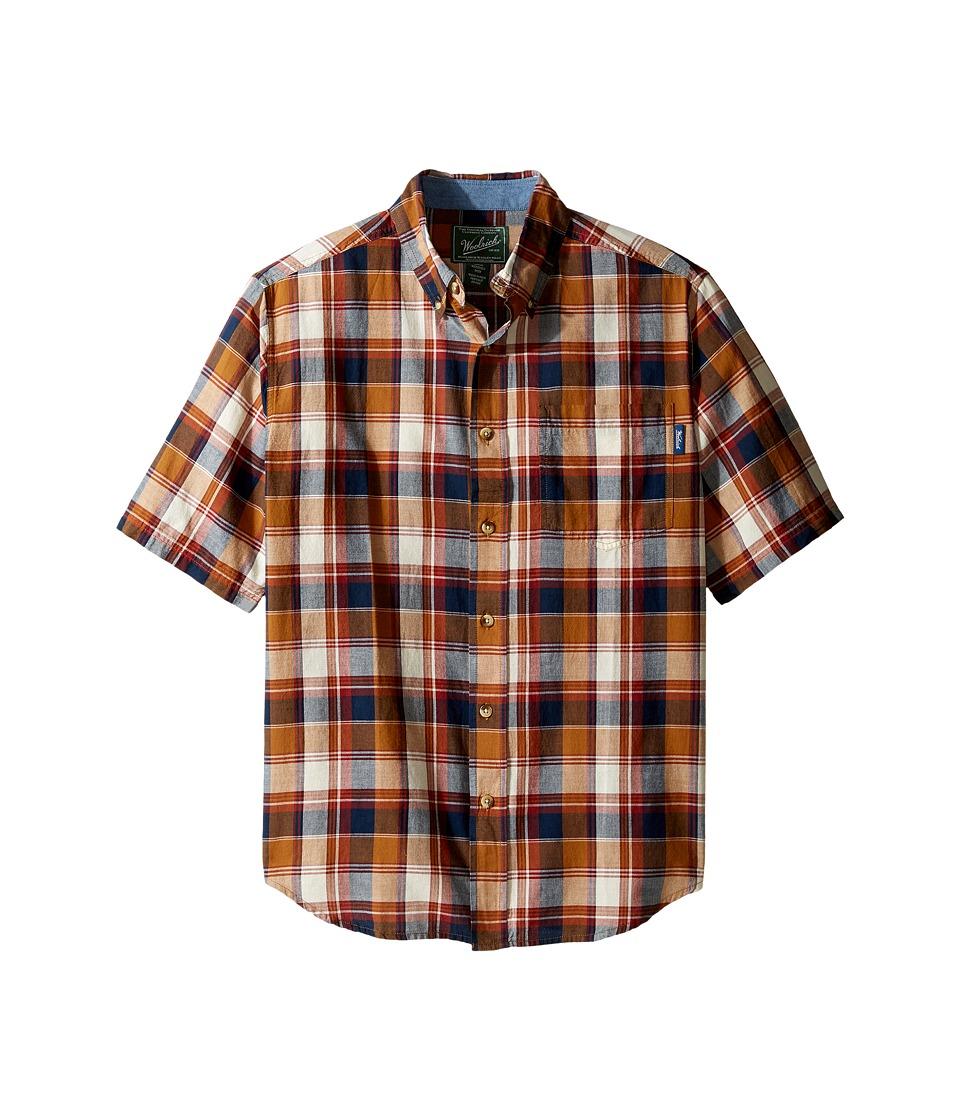 Woolrich - Timberline Shirt (Chicory) Men's Short Sleeve Button Up