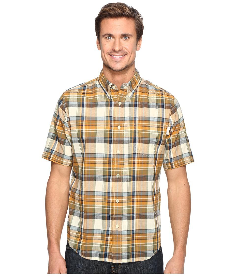 Woolrich - Timberline Shirt (Desert Sun) Men's Short Sleeve Button Up