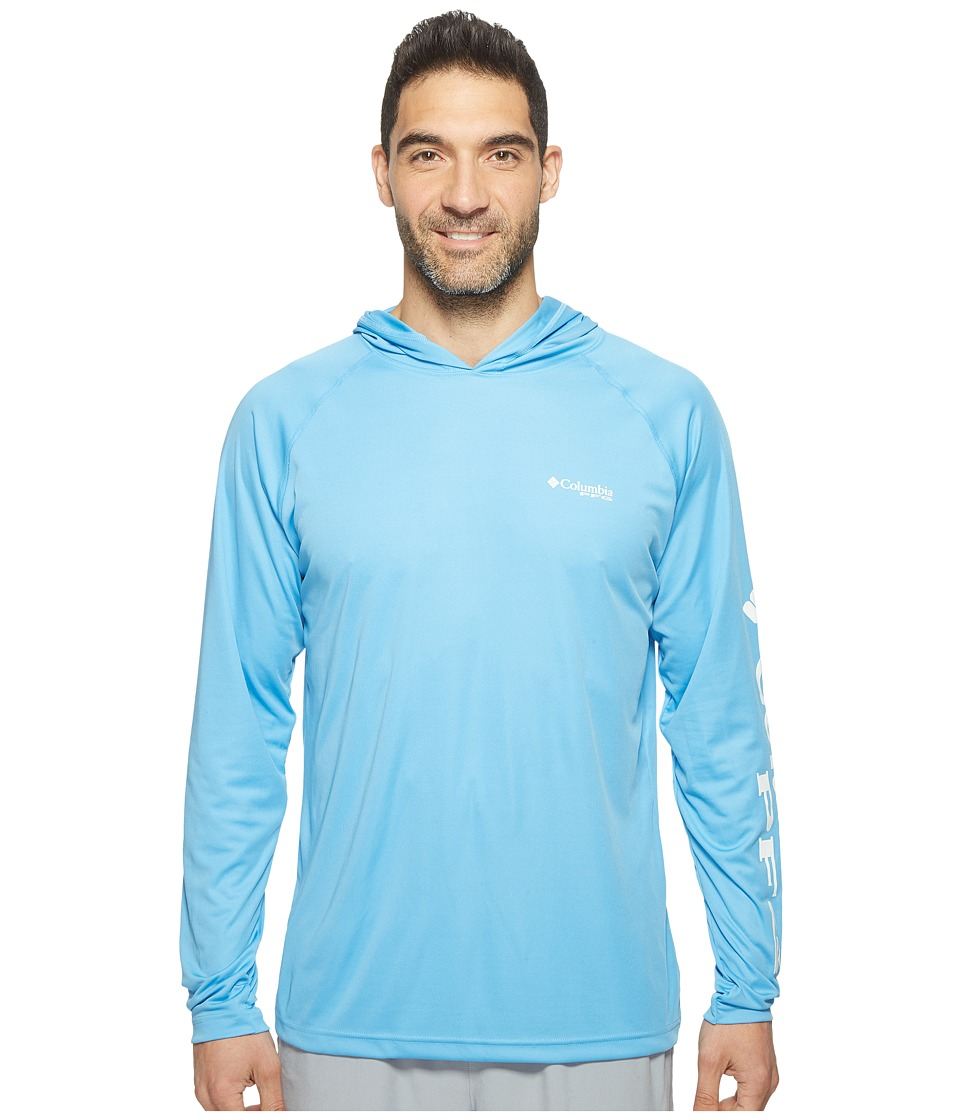 Columbia - Terminal Tackletm Hoodie (Yacht/White Logo) Men's Sweatshirt