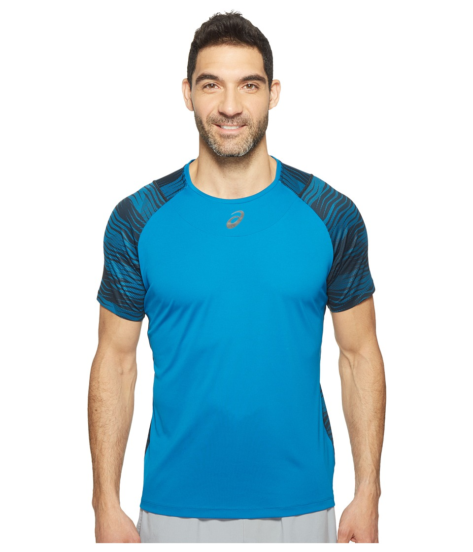 ASICS Tennis Club Challenger GPX Top (Thunder Blue) Men