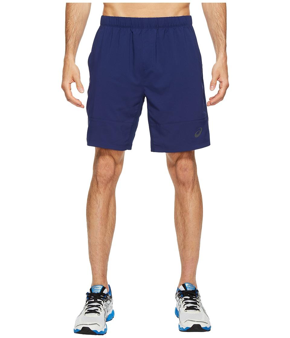 ASICS - Tennis Club Challenger 7 Shorts (Indigo Blue) Men's Shorts