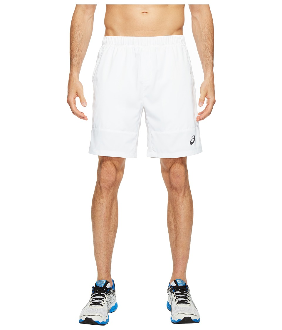 ASICS - Tennis Club Challenger 7 Shorts (Real White) Men's Shorts