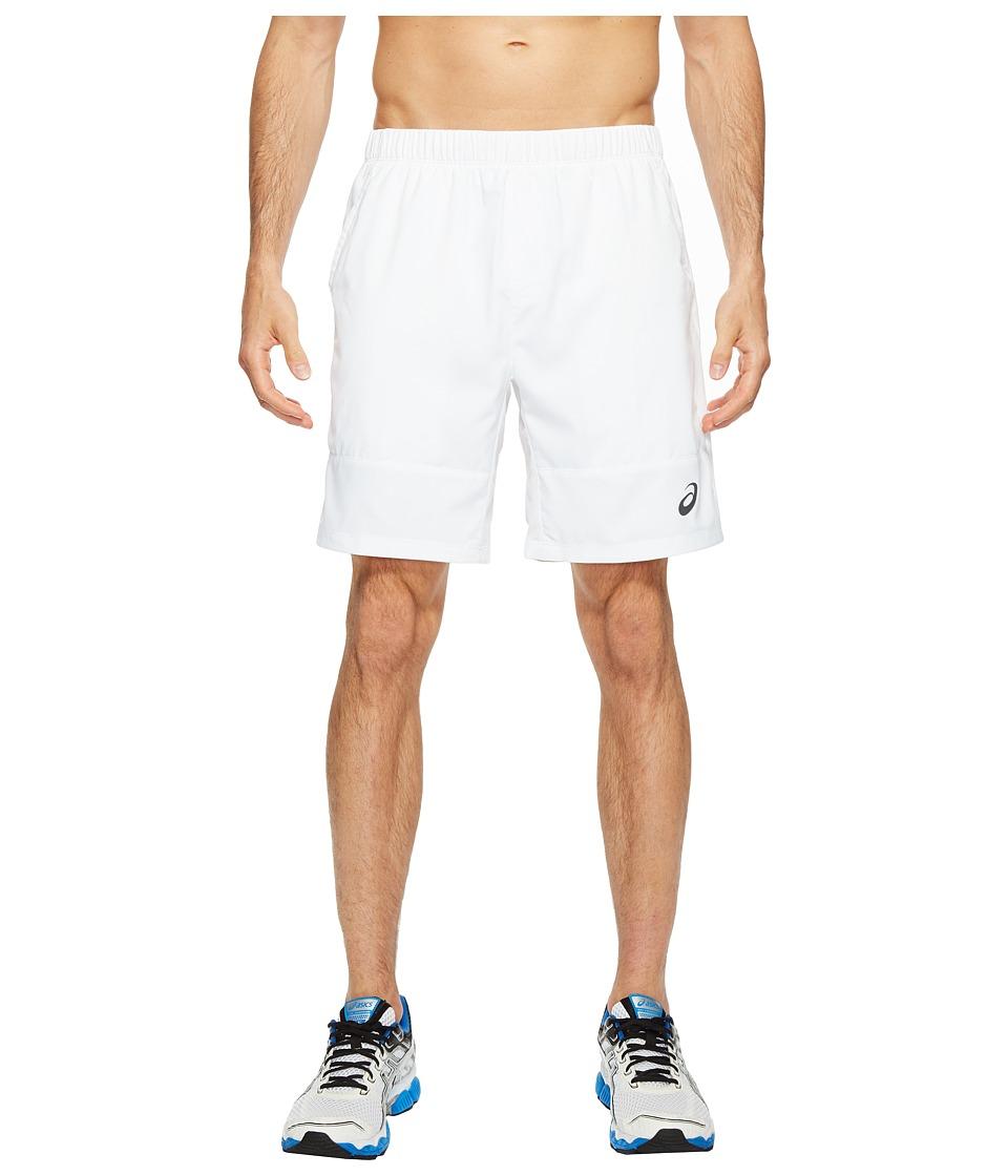 ASICS - Tennis Club Challenger 7 Shorts (Real White) Men's Shorts