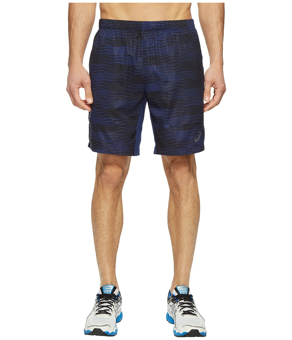 ASICS Tennis Club Challenger GPX 7 Shorts (Indigo Blue) Men
