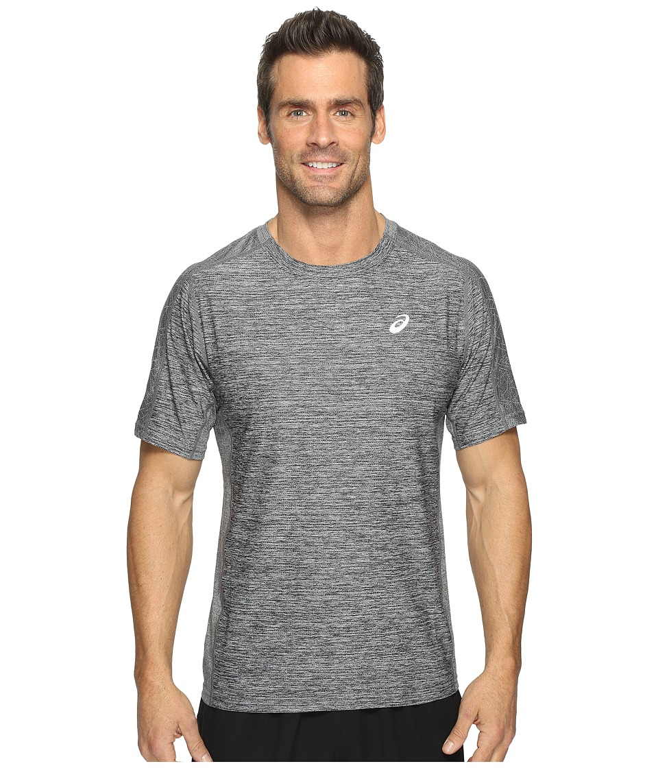 ASICS Lite-Show Short Sleeve Tee (Mid Grey Heather) Men