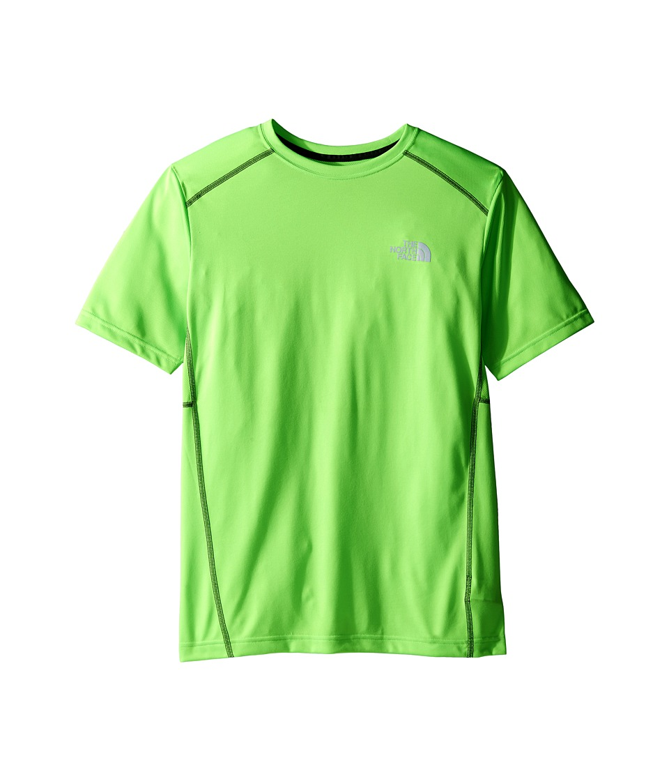 The North Face Kids - Short Sleeve Reactor Tee (Little Kids/Big Kids) (Power Green (Prior Season)) Boy's Short Sleeve Pullover