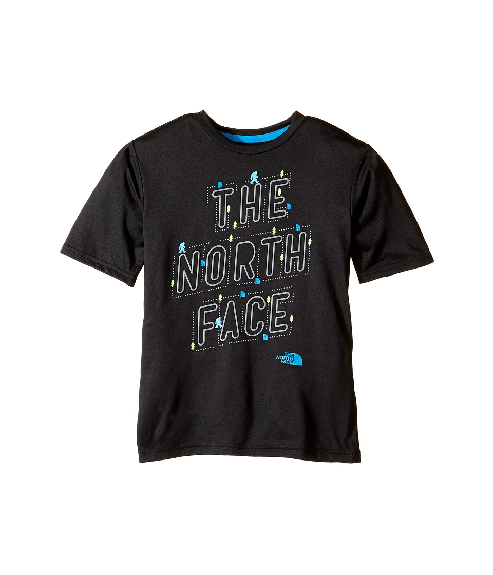 The North Face Kids - Short Sleeve Reaxion Tee (Little Kids/Big Kids) (TNF Black (Prior Season)) Boy's T Shirt