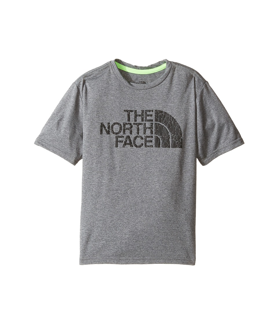 The North Face Kids - Short Sleeve Reaxion Tee (Little Kids/Big Kids) (TNF Medium Grey Heather/TNF Black (Prior Season)) Boy's T Shirt