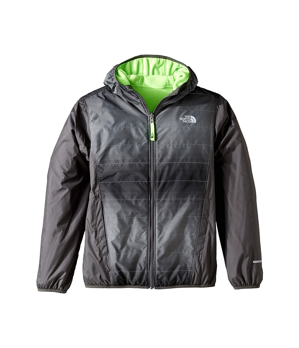 The North Face Kids - Reversible Breezeway Wind Jacket (Little Kids/Big Kids) (Mid Grey/Graphite Grey (Prior Season)) Boy's Coat