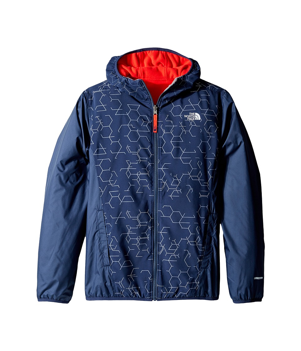 The North Face Kids - Reversible Breezeway Wind Jacket (Little Kids/Big Kids) (Cosmic Blue/Cosmic Blue/High Risk Red (Prior Season)) Boy's Coat
