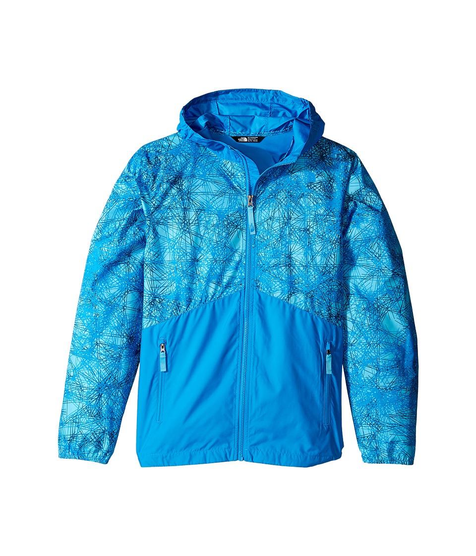The North Face Kids - Flurry Wind Hoodie (Little Kids/Big Kids) (Cascade Blue/Clear Lake Blue (Prior Season)) Boy's Sweatshirt