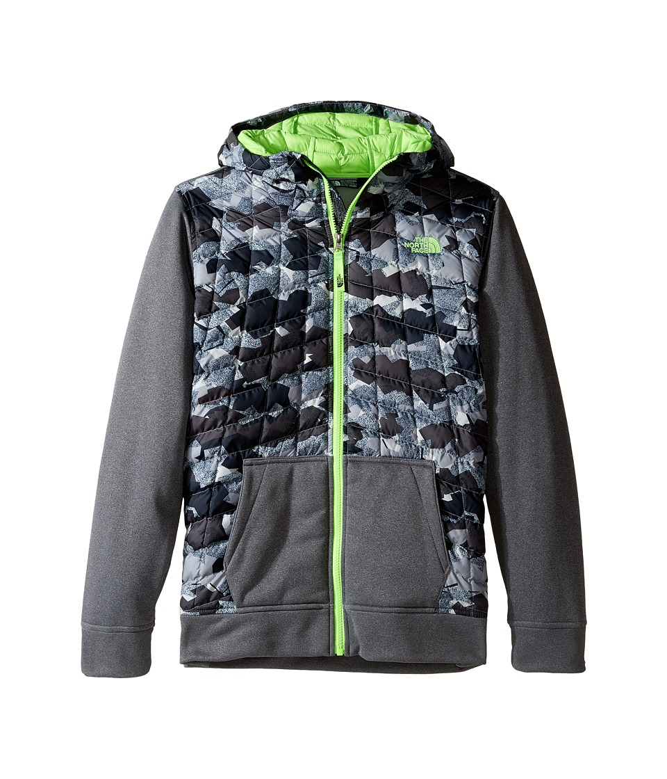 The North Face Kids - Thermoball Canyonlands Hoodie (Little Kids/Big Kids) (Graphite Grey/TNF Medium Grey (Prior Season)) Boy's Sweatshirt