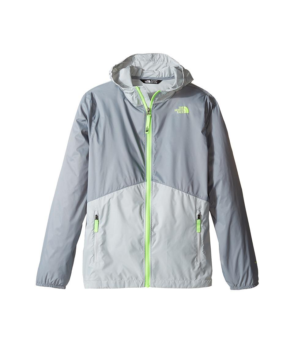 The North Face Kids - Flurry Wind Hoodie (Little Kids/Big Kids) (Mid Grey/High-Rise Grey (Prior Season)) Boy's Sweatshirt