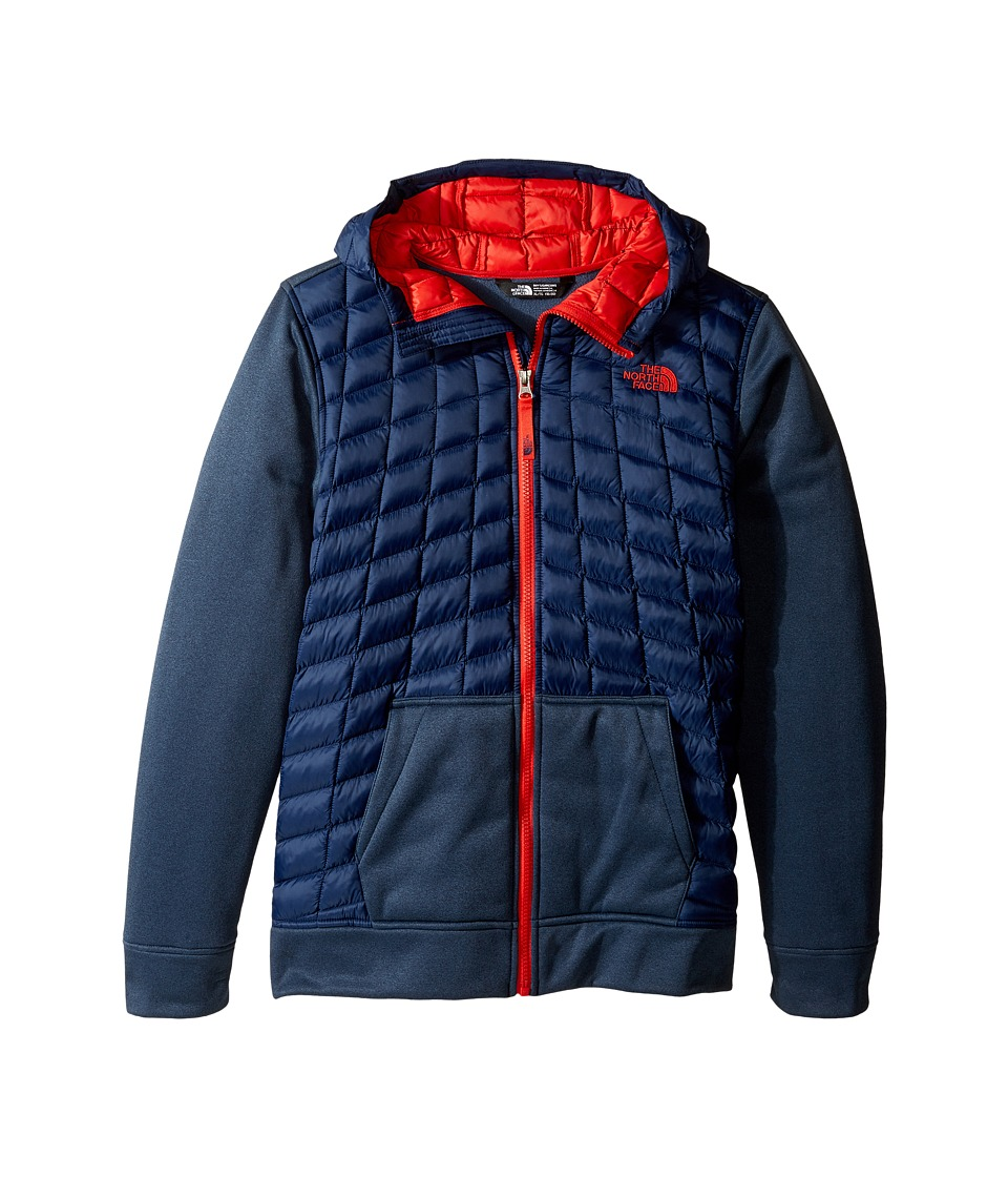 The North Face Kids - Thermoball Canyonlands Hoodie (Little Kids/Big Kids) (Cosmic Blue/Cosmic Blue Heather (Prior Season)) Boy's Sweatshirt