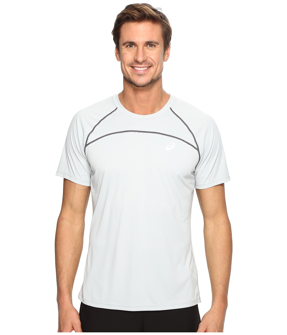 ASICS Favorite Short Sleeve Shirt (Mid Grey) Men
