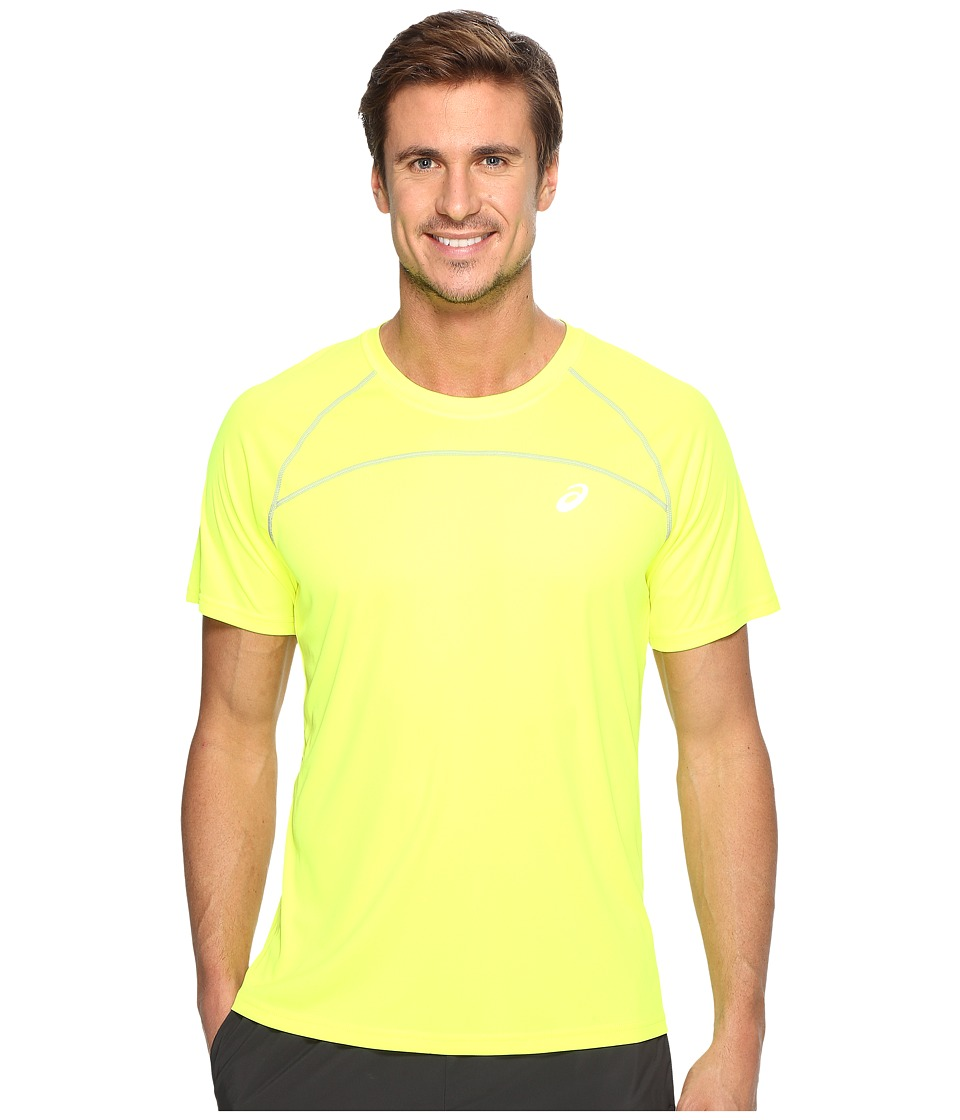 ASICS Favorite Short Sleeve Shirt (Safety Yellow) Men