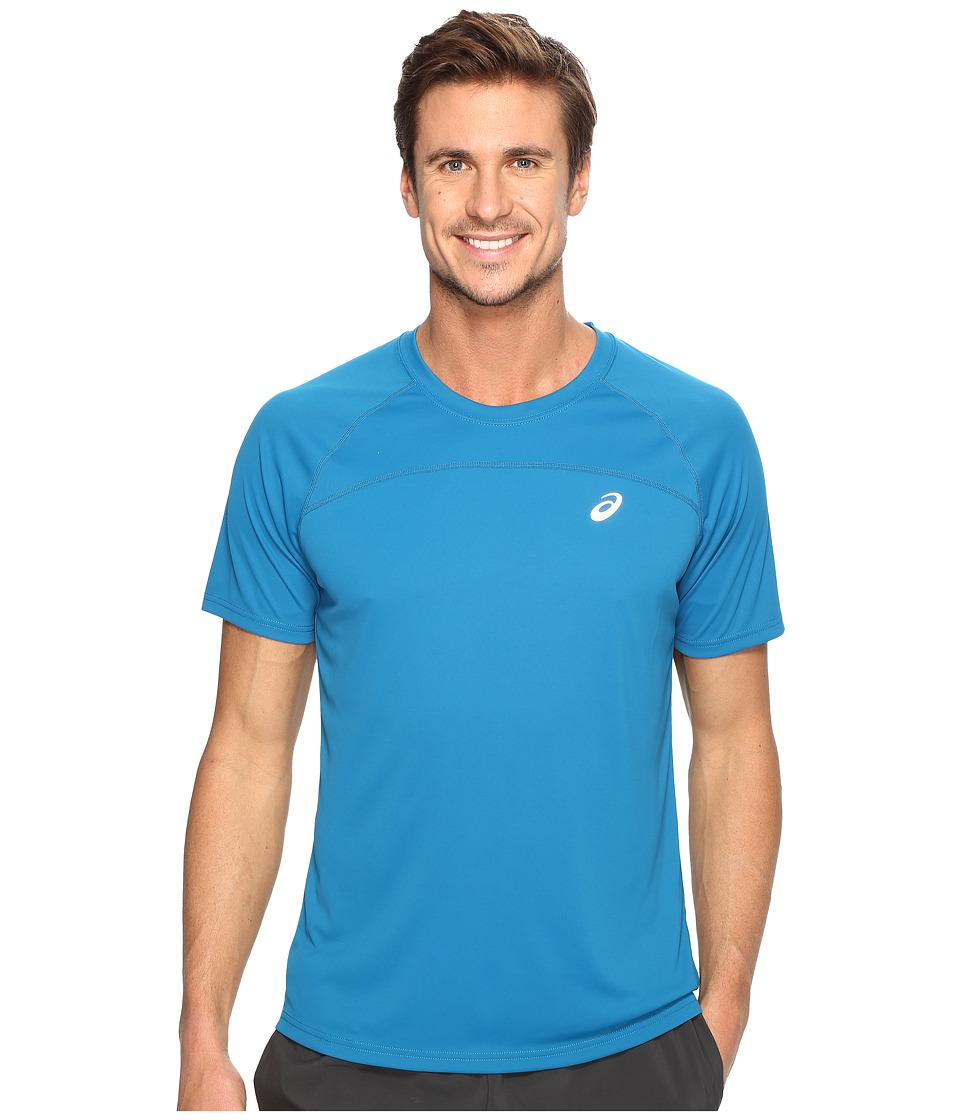 ASICS Favorite Short Sleeve Shirt (Thunder Blue) Men