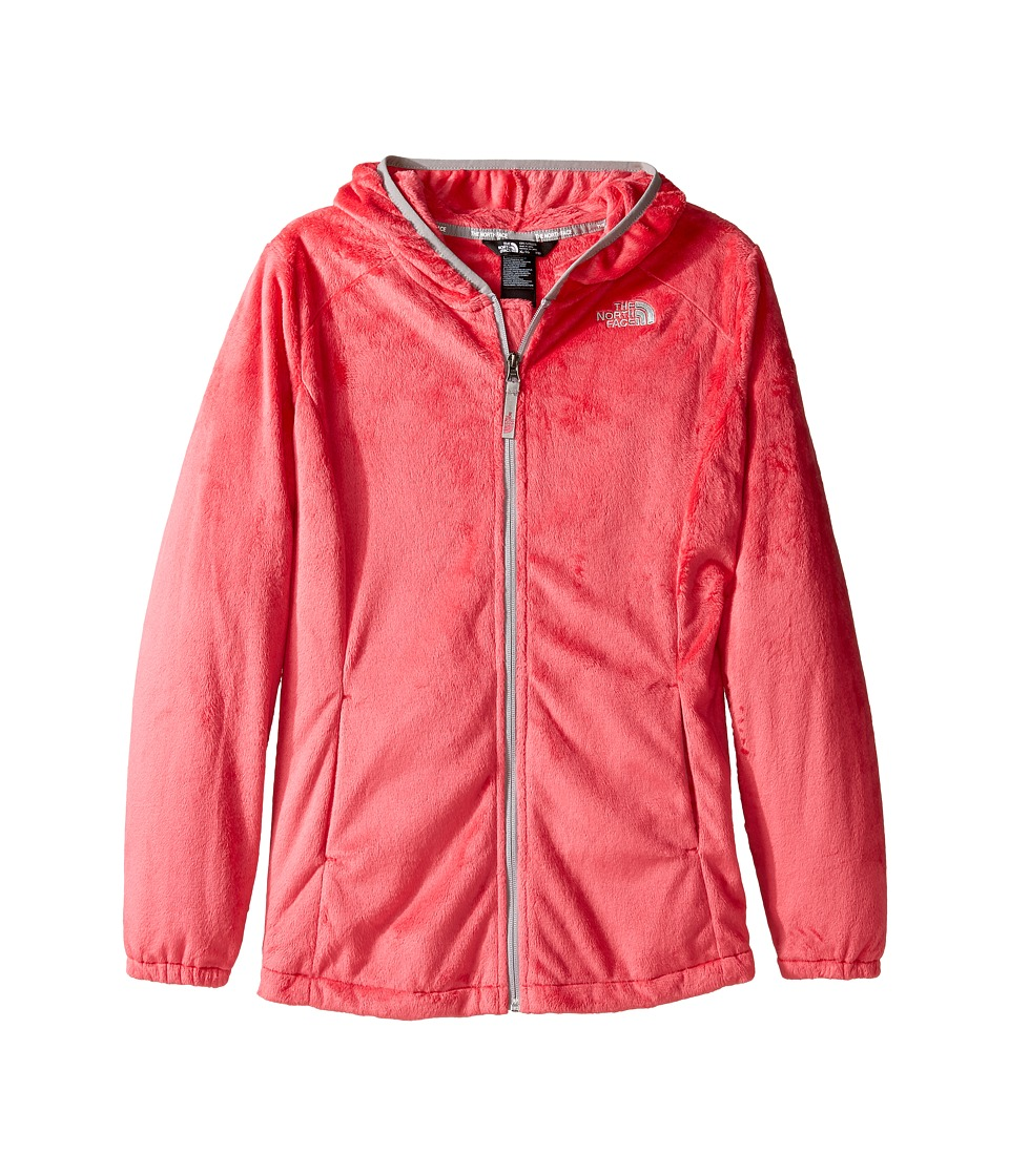 The North Face Kids - Oso 2 Hoodie (Little Kids/Big Kids) (Honeysuckle Pink/Metallic Silver (Prior Season)) Girl's Sweatshirt