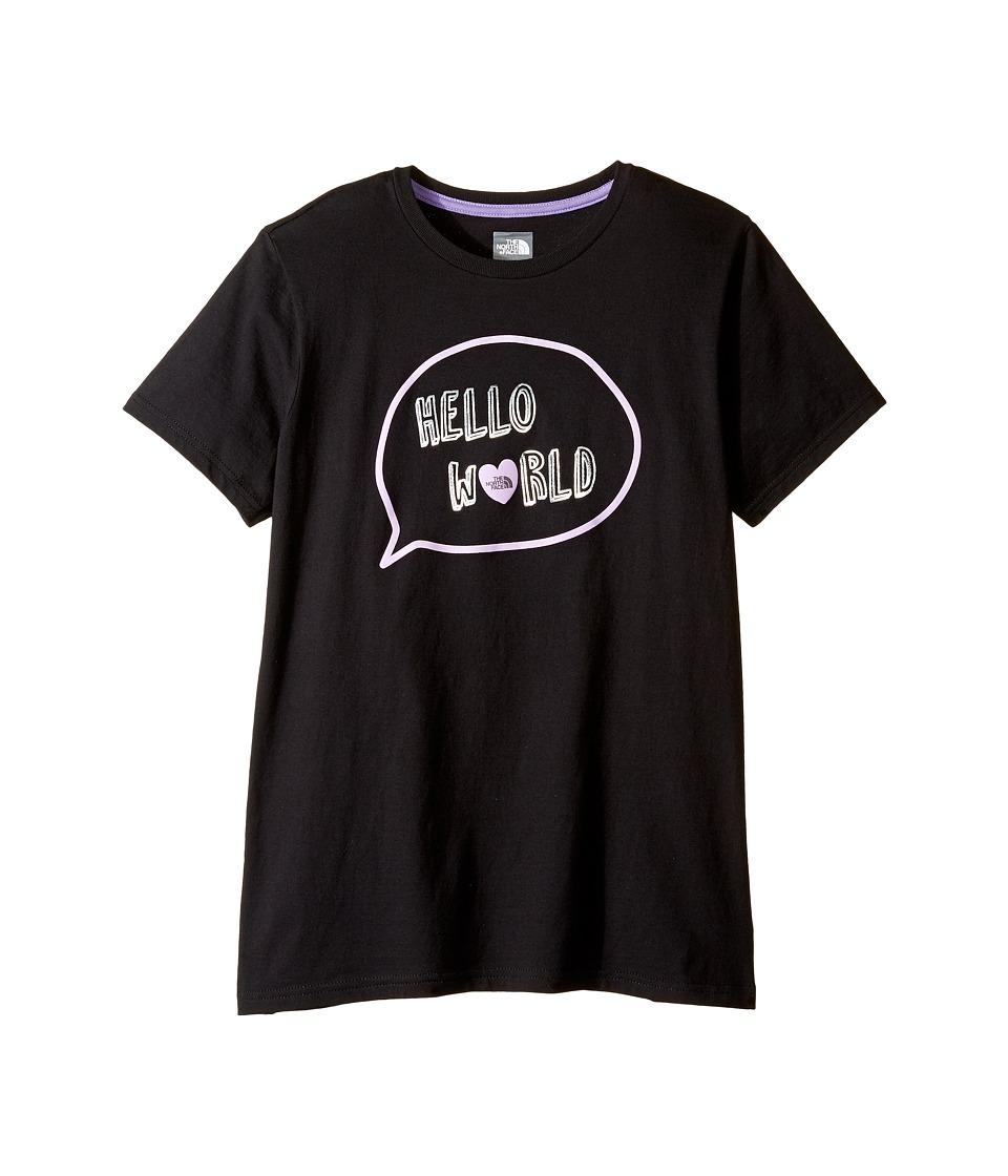 The North Face Kids - Short Sleeve Graphic Tee (Little Kids/Big Kids) (TNF Black (Prior Season)) Girl's Short Sleeve Pullover