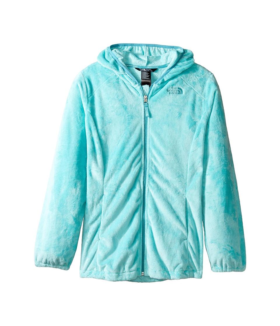 The North Face Kids - Oso 2 Hoodie (Little Kids/Big Kids) (Breeze Blue/Valhalla Blue (Prior Season)) Girl's Sweatshirt