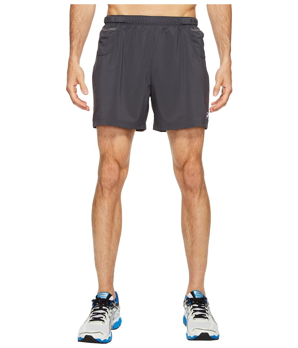 ASICS - Distance 5 Shorts (Dark Grey) Men's Shorts