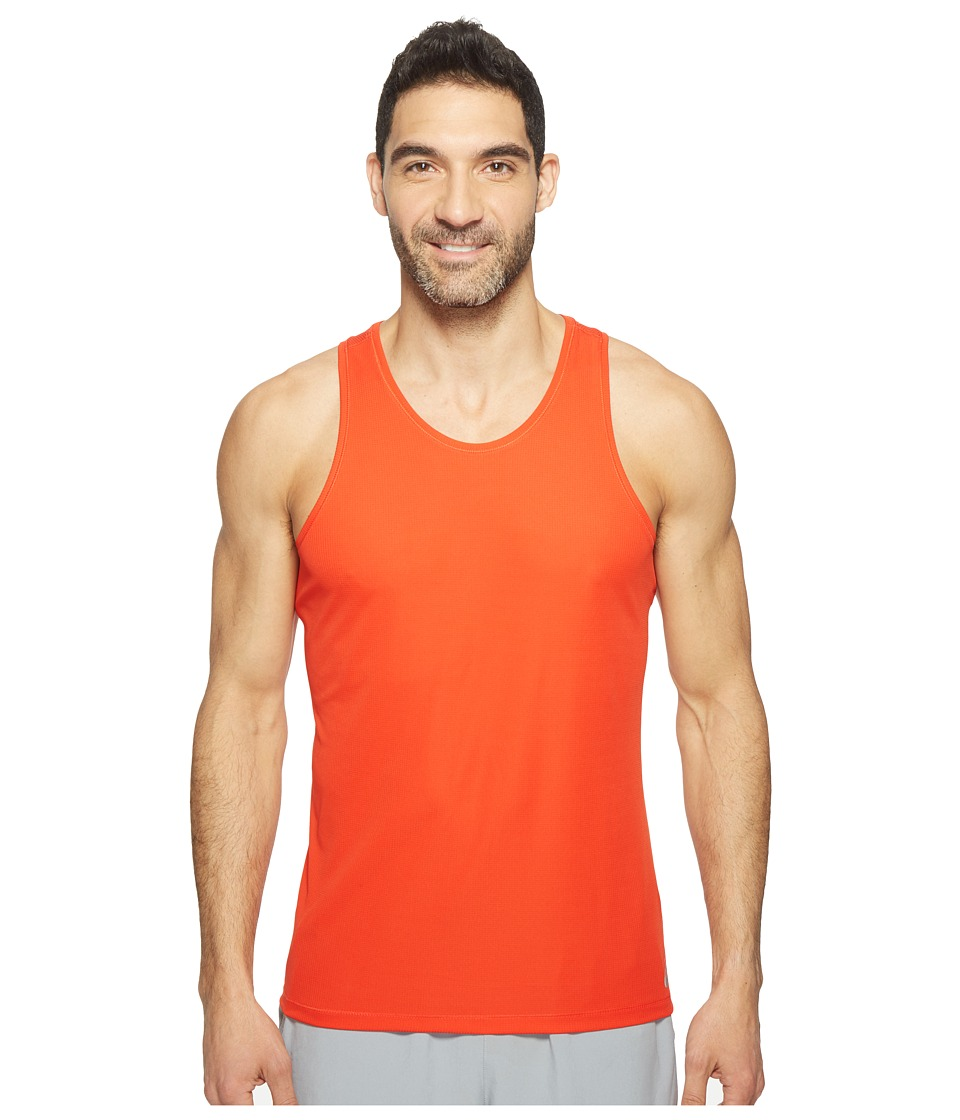 ASICS - Singlet (Fiery Red) Men's Sleeveless