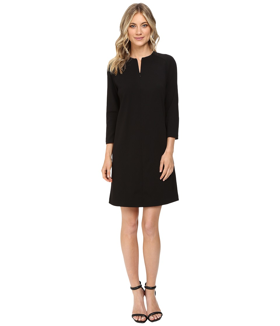 Donna Morgan - Shift Dress with Raglan Sleeves (Black) Women's Dress